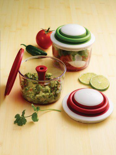 Chef\'n VeggiChop Hand-Powered Food Chopper, Arugula | Gifting Ideas ...
