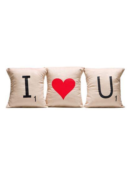 ILOVEU Pillow Cover Set