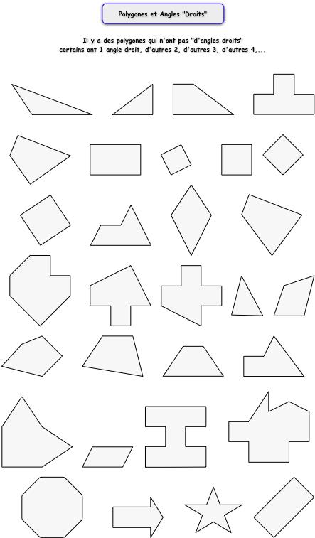 Großzügig Polygone Und Winkel Arbeitsblatt Ideen - Arbeitsblätter ...