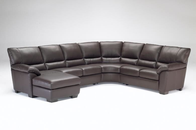 Natuzzi Editions B632 Leather Sectional Leather