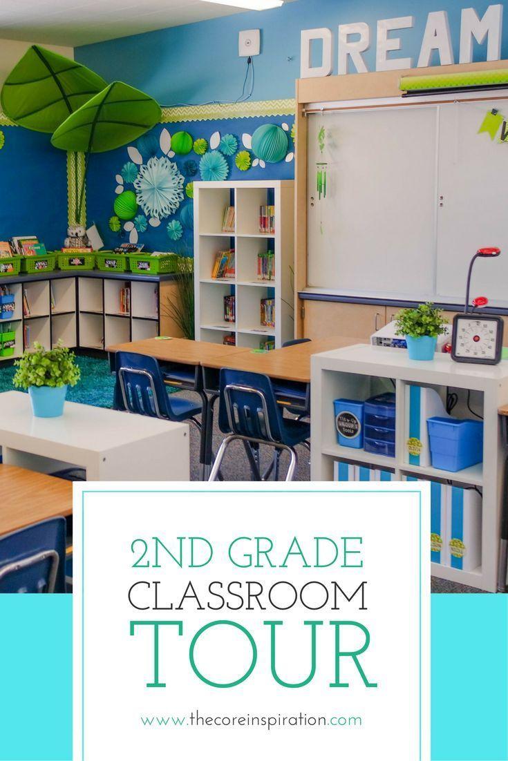 Second Grade Classroom Design Ideas : Classroom reveal calming colors school and spaces