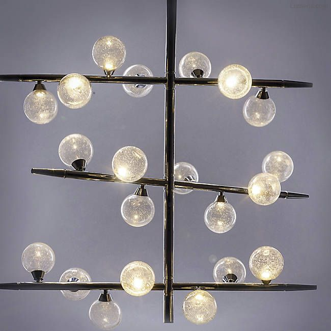 Bubbly LED Chandelier By ET2 Lighting