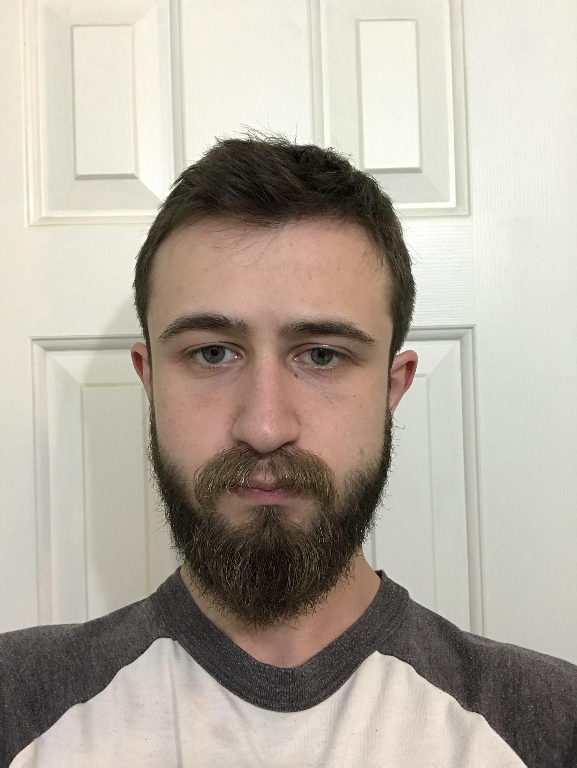 A Few People Yesterday Asked For A Front View Of My Beard I Hope Youre Not Terribly Disappointed Beard People Yesterday