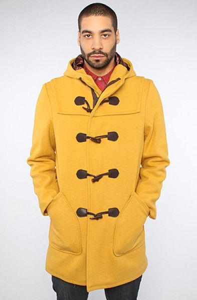 Schott-NYC- Mustard Duffle Coat! | Coats, Blazers & Jackets ...