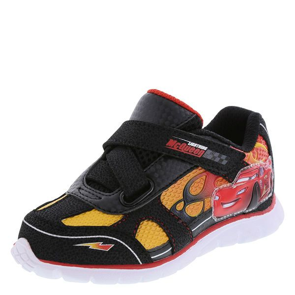 5ad848941af Lightning McQueen sneaker. Payless. Check this out | Ace & Jocelyn's ...