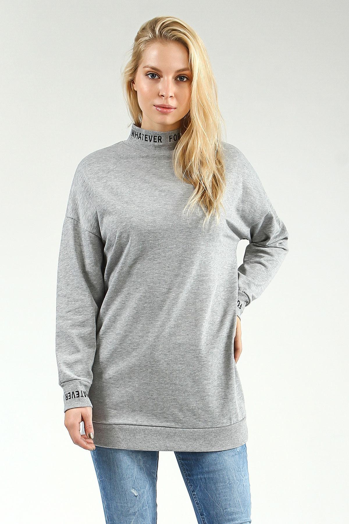 Bayan Collezione Tunik Uzun Kol Yuttii 1761282 13 B Jpg 1200 1800 Fashion Pullover Sweaters