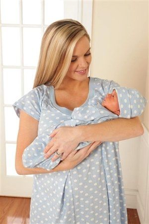 Totally Want This Nursing Nightgown And Matching Outfit With Baby