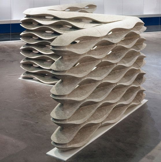 Raumteiler Erg nzungsm bel Onda Lithos Design Raffaello - innovative raumteiler system