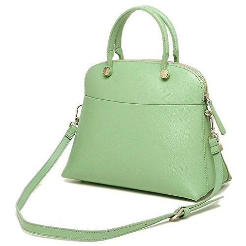 Furla Piper Dome Mint Green Menta Purse | Designer Handbags ...
