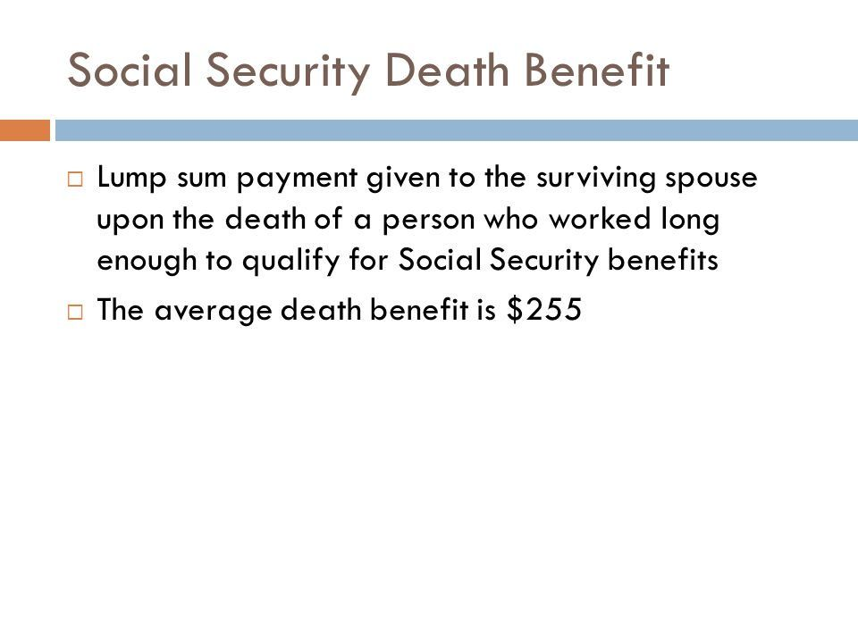 How To Get A Lump Sum Payment From Social Security
