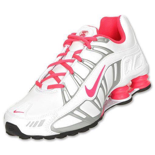 nike shox turbo 3.2 womens white pink running shoes