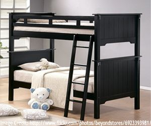 Double Storey Bed If Two Kids Are Sharing Or A Single