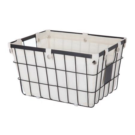 6770c362e2dde407c394f60015120885 - Better Homes And Gardens Wire Basket With Chalkboard Black