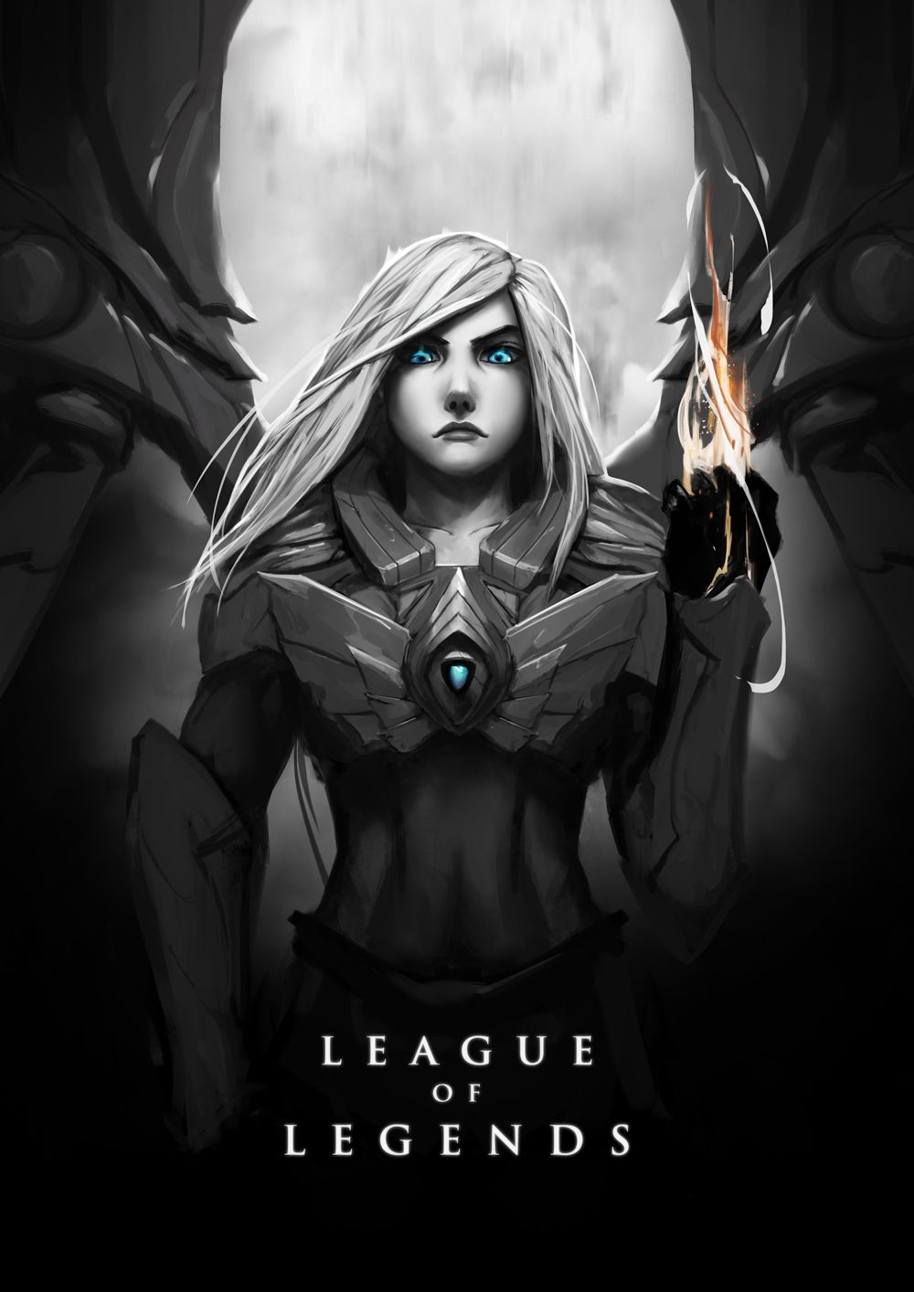 Aetherwing Kayle Lol League Of Legends League Of Legends Elo League Of Legends Poster Aether wing kayle league of legends