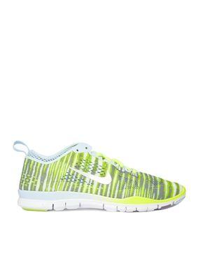 buy popular 72a6d 3e0c0 Equipo Para Entrenamiento · Limas · Entrenadores · Asos · Nike Free 5.0 Tr Fit  4 Prt Lime Print Trainers