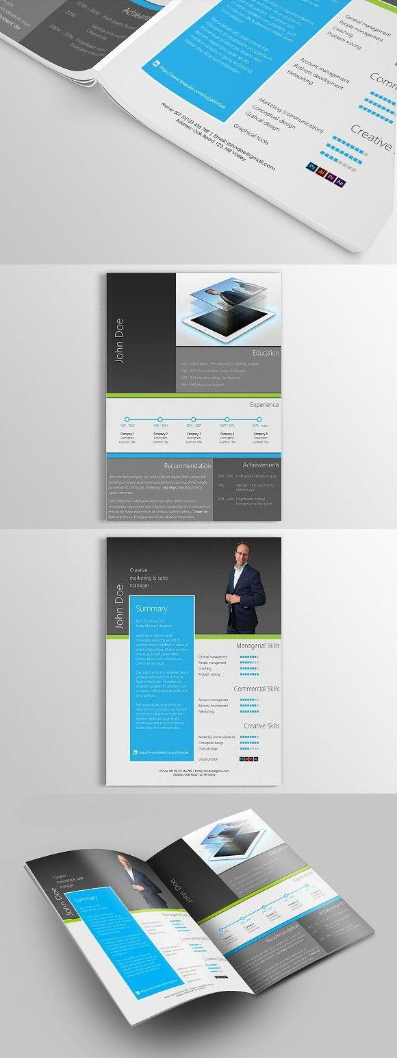 Interactive Cv Templates%0A Unique Resume   Curriculum Vitae CV   resume