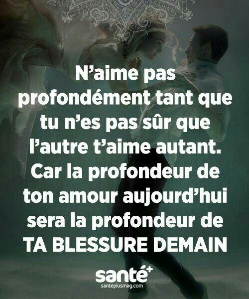 Profondeur De Ta Blessure Belles Citations Citation Et
