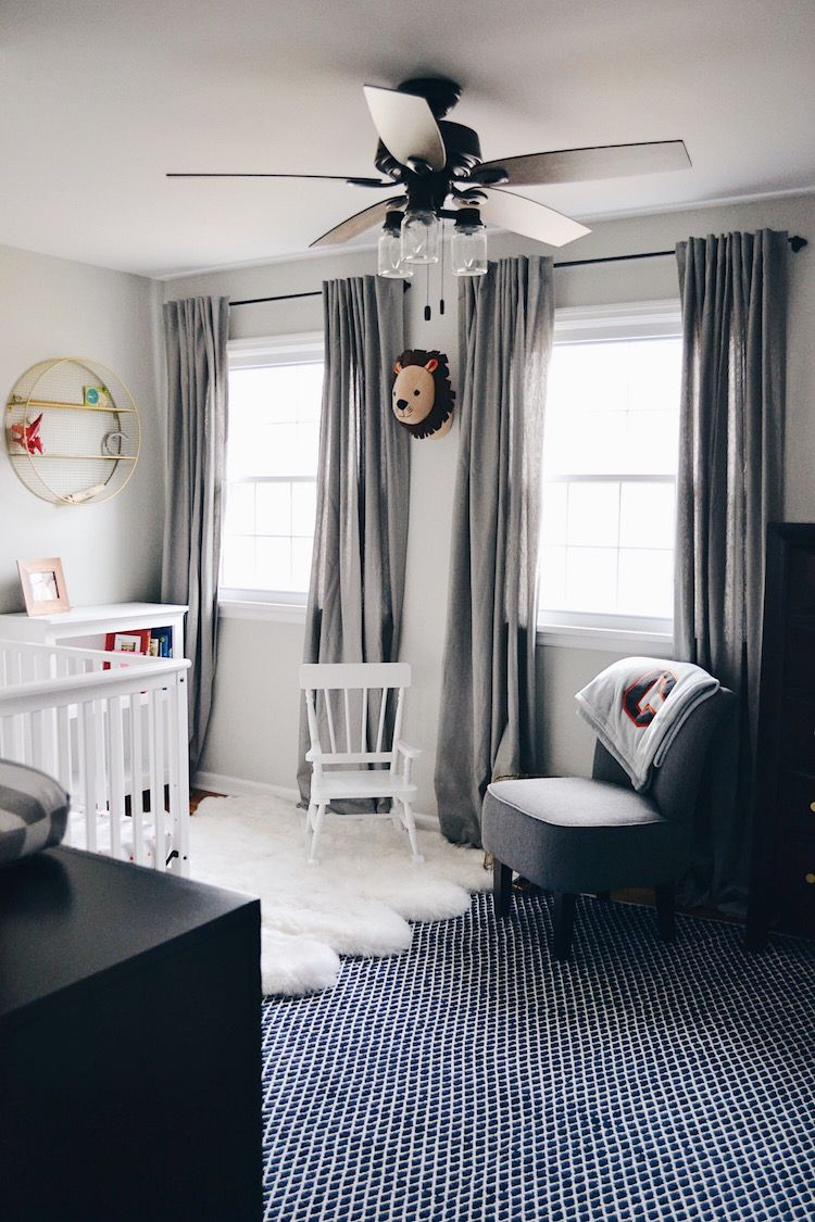 Baby Boy Room Mural Ideas: Toddler Big Boy Room Reveal