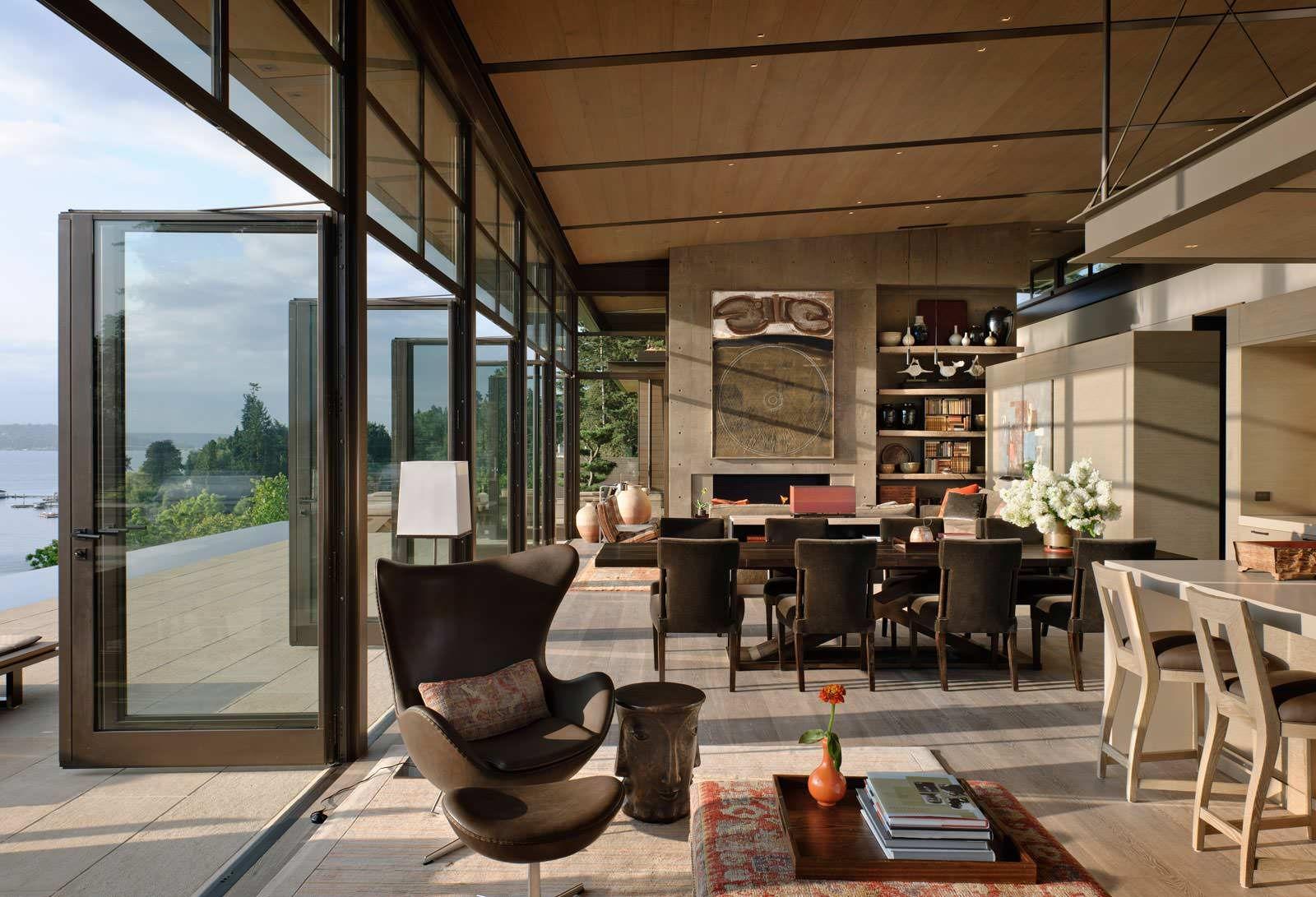 Doug Rasar Interior Design LLC | Seattle: Washington Park Dining chairs