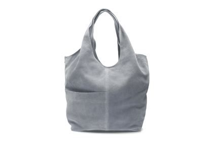 Clarks Tornolo Joy Grey Suede Leather Bags