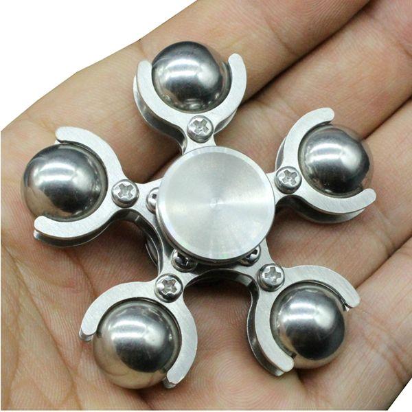 ECUBEE EDC Stainless Steel Fidget Spinner Ferris Wheel Hand Spinner Gadget Finger Spinner