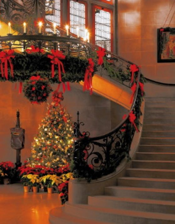 Feature Friday Christmas at the Biltmore House Biltmore House