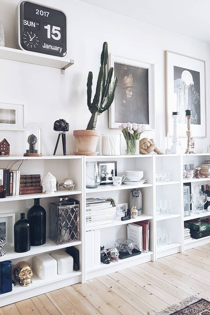 Curated shelf space. Found by Summer S… | Ideal Homes || Midcentury ...