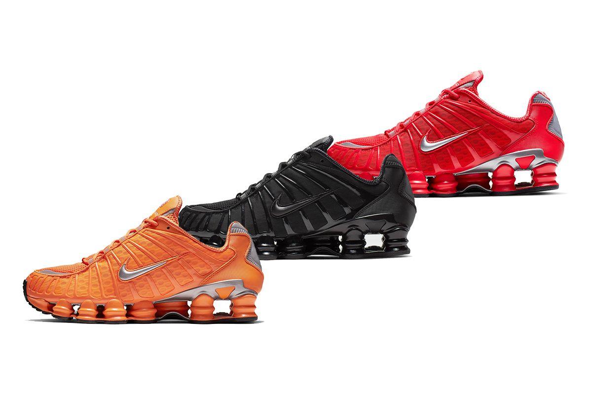 Juz Za Chwile Premiera 3 Wersji Nike Shox Tl Total Nike Shox Nike Shox
