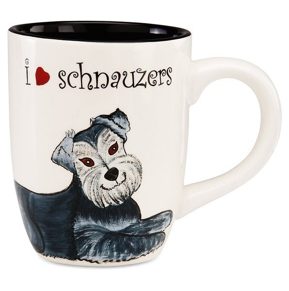 This is one of my favorites on totsy.com: Schnauzer 4.25 in Mug