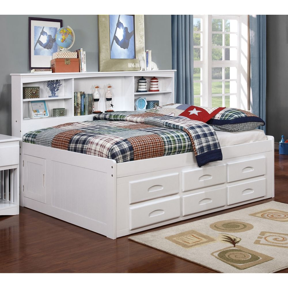 Bookcase Daybed White Bookcase Bed Daybed With Storage
