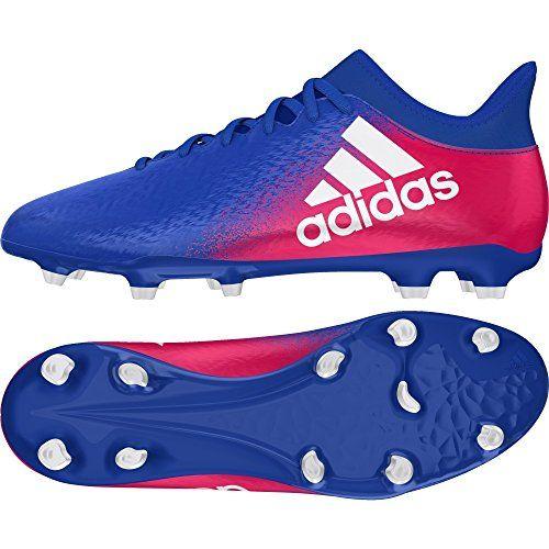 the latest 5079b f5086 adidas X 16.3 FG - Botas de fútbol para Hombre, Azul - (AZUL FTWBLA ROSIMP)  44