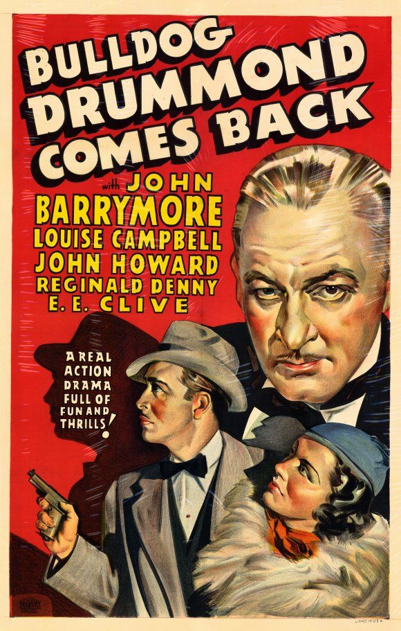 Watch Bulldog Drummond Comes Back Full-Movie Streaming
