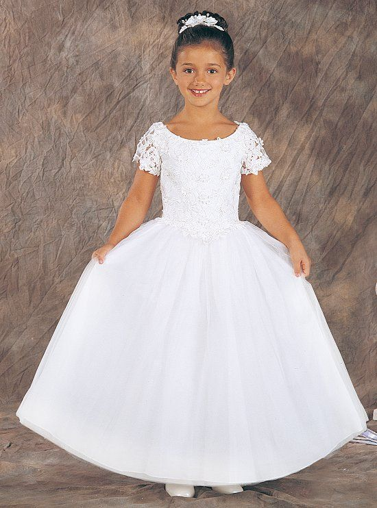 Wholesale Cheap Charming Cheap Simple White Ball Gown Organza Short     Wholesale Cheap Charming Cheap Simple White Ball Gown Organza Short Sleeves  Floor Length  BSFCD 017