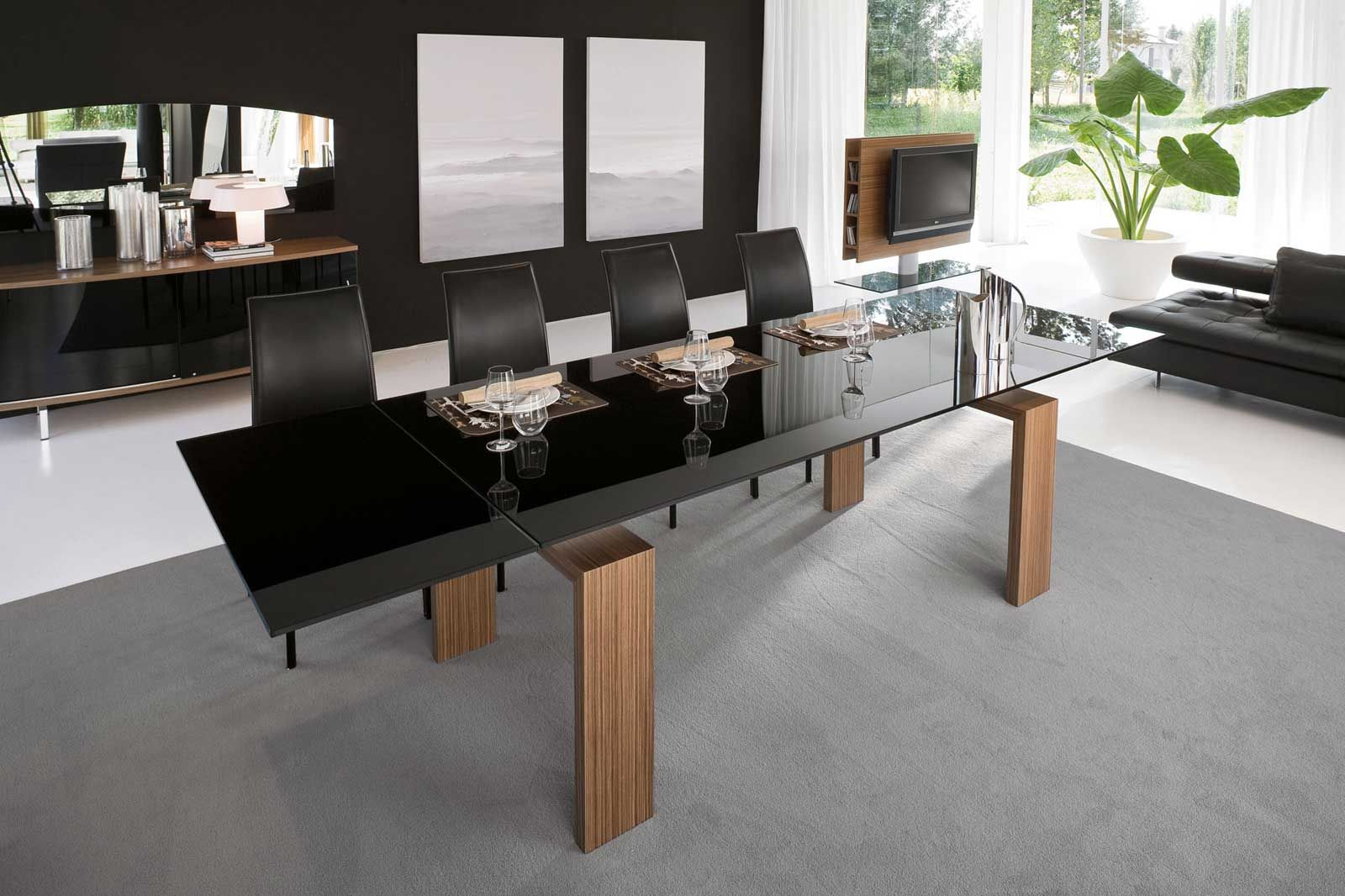 Attractive Contemporary Dining Room Furniture Design