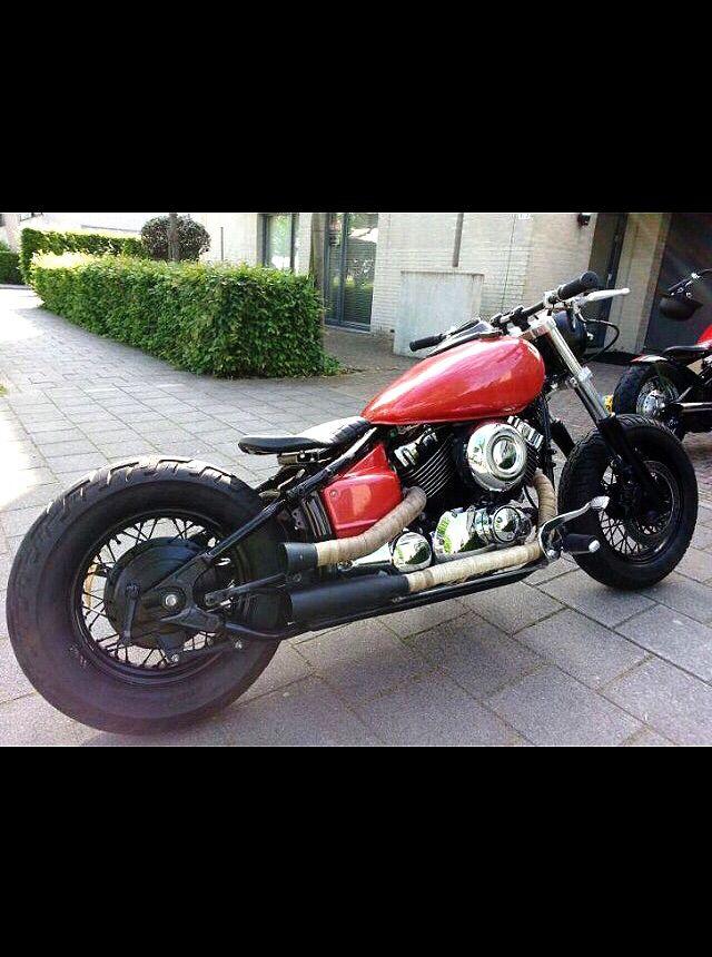 My Yamaha dragstar 650