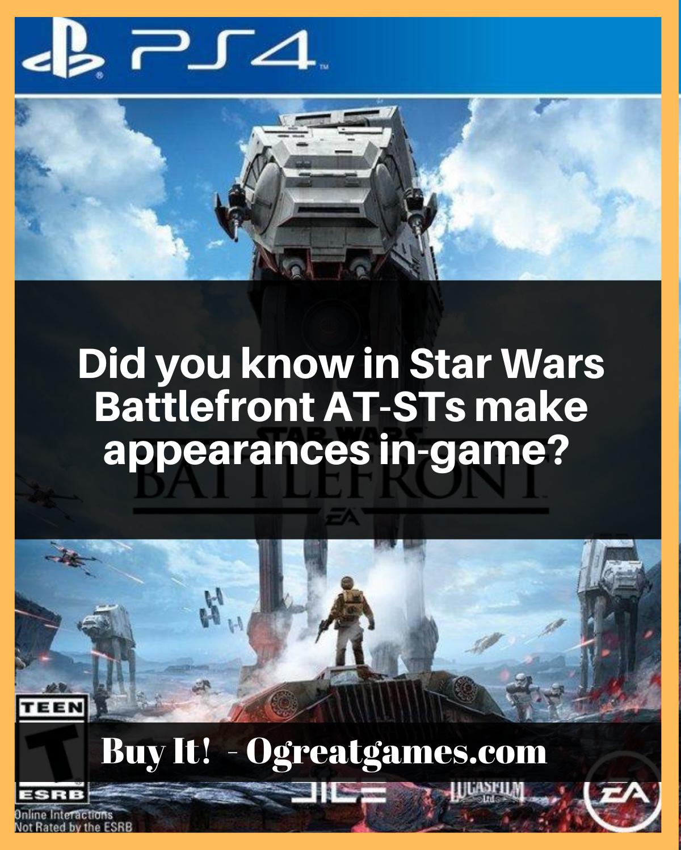 Star Wars Battlefront PlayStation 4 Playstation, Versiones
