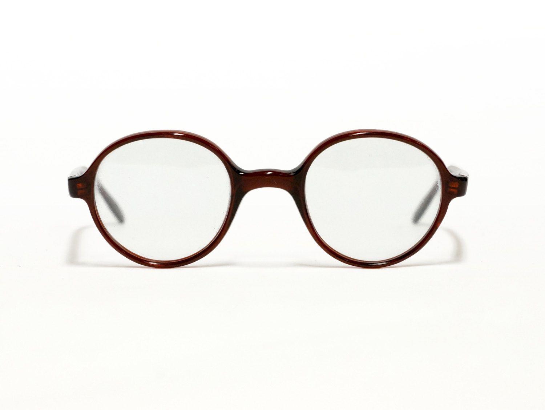 Morwen Vintage Eyeglasses  You & You - round eyewear - panto style - Italian eyeglasses in new old stock condition