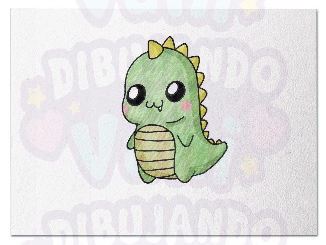 Dinosaurio Kawaii Como Dibujar Un Dinosaurio Dibujos Kawaii Dinosaurio Kawaii Necesitas estar logueado para poder descargar. dinosaurio kawaii como dibujar un