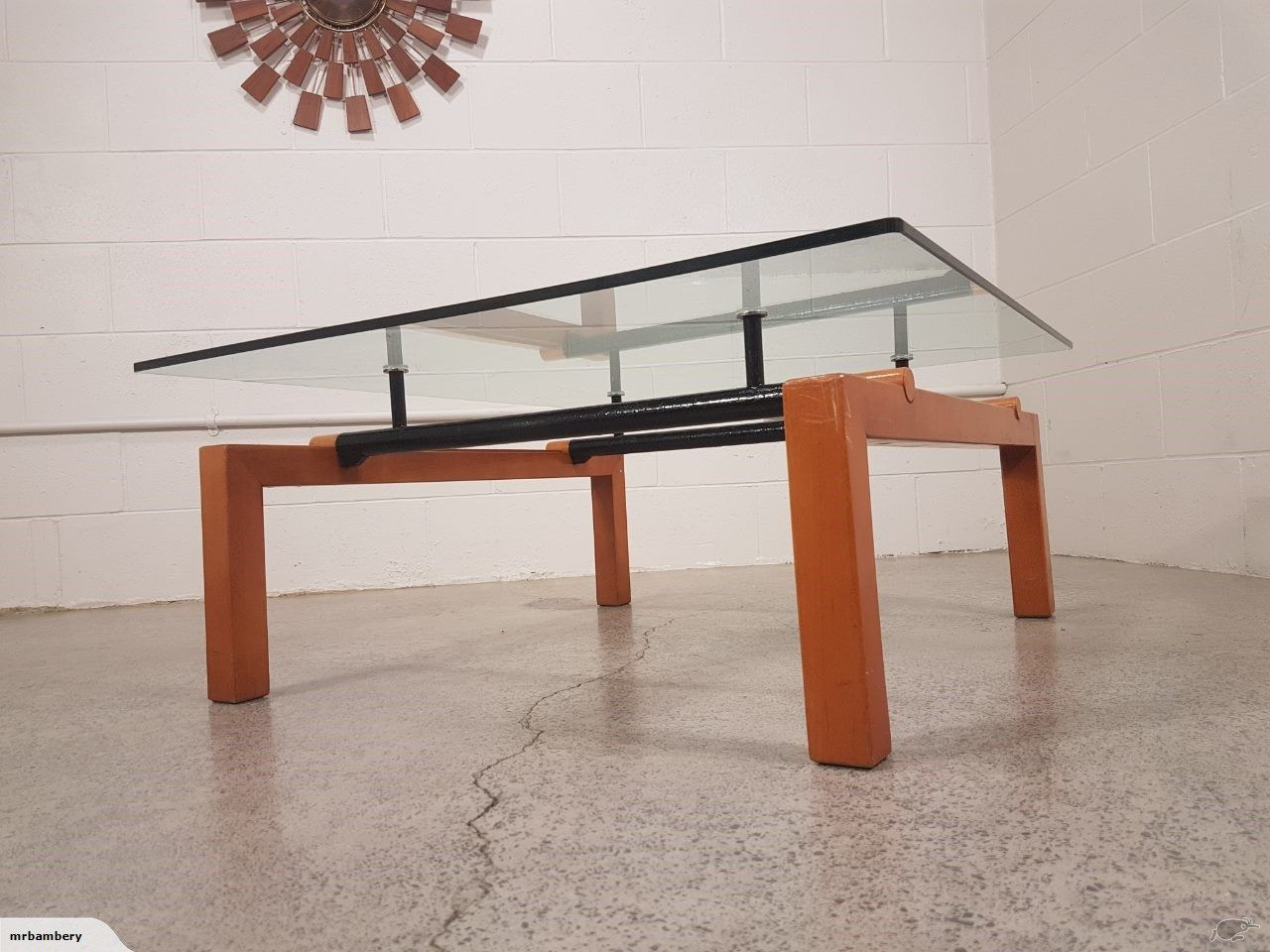 ~ Original Vintage Architectural Coffee Table ~ | Trade Me ...