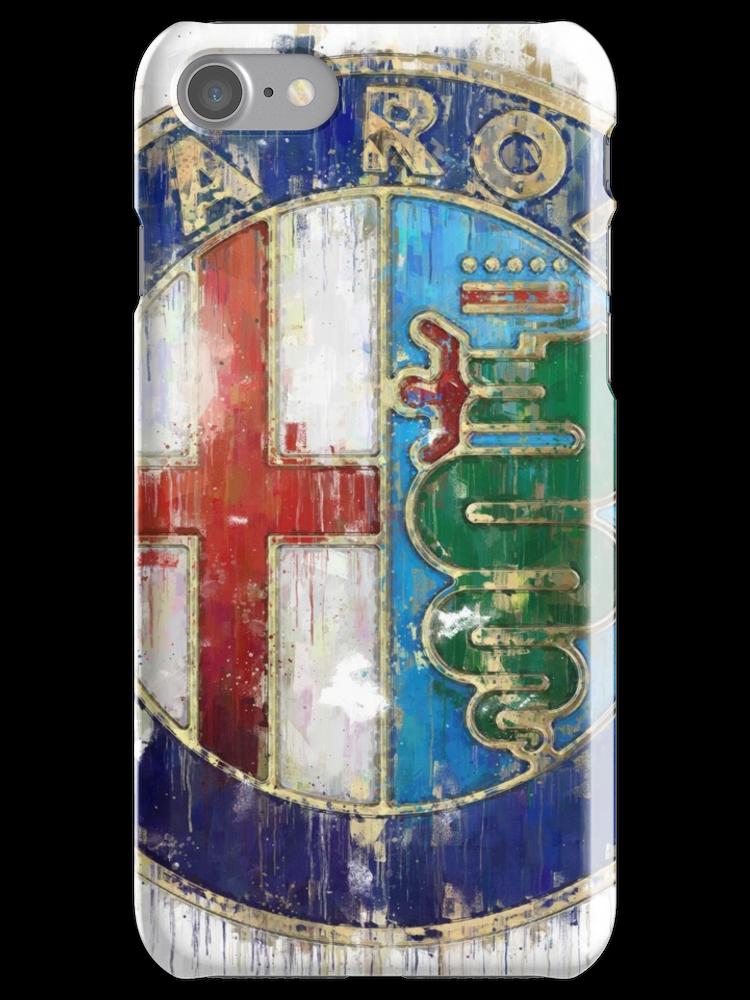 Alfa Romeo Logo iPhone Case & Cover by Theodor Decker   Alfa romeo ...