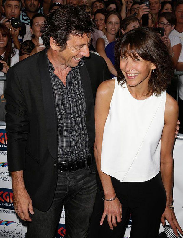 Patrick Bruel et Sophie Marceau très complices au festival