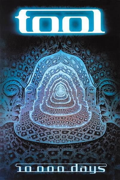 Tool 10,000 Days Poster in 2019 | Decor | Tool music, Tool poster