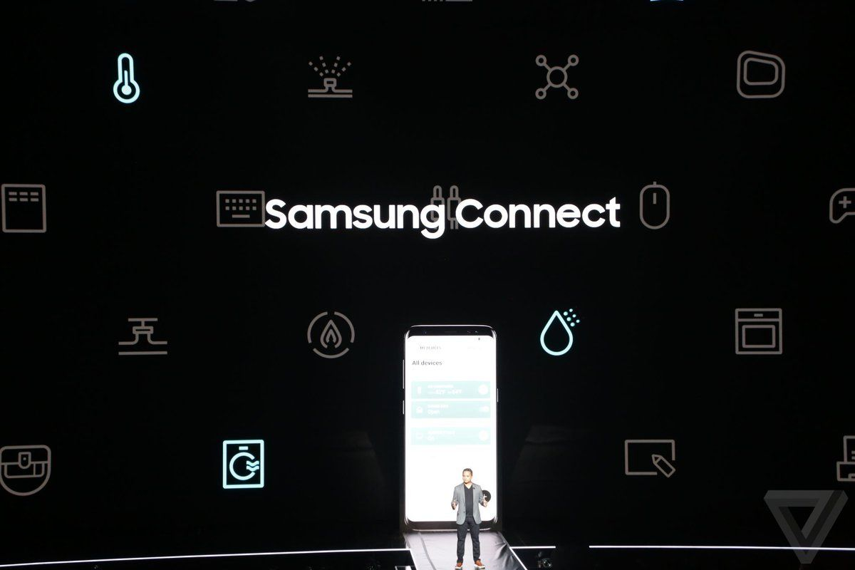It's a single app to manage Samsung and SmartThings