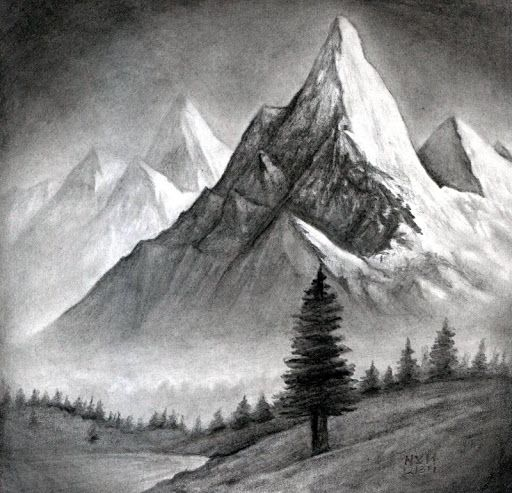 How To Draw Landscapes Quick Easy Step By Step Can Learn