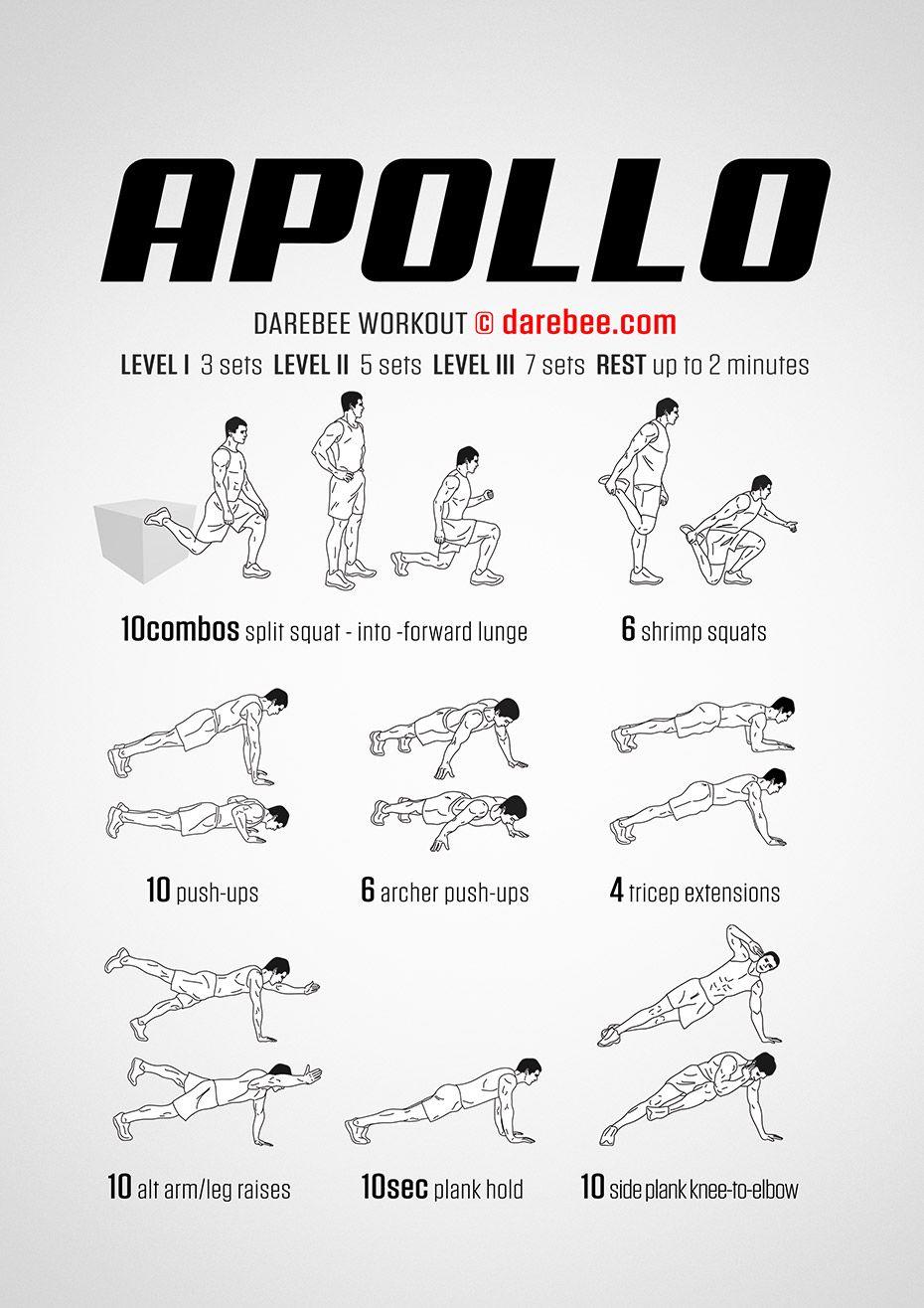 Apollo Workout (avec images) | Exercice musculation, Exercices de fitness, Exercice