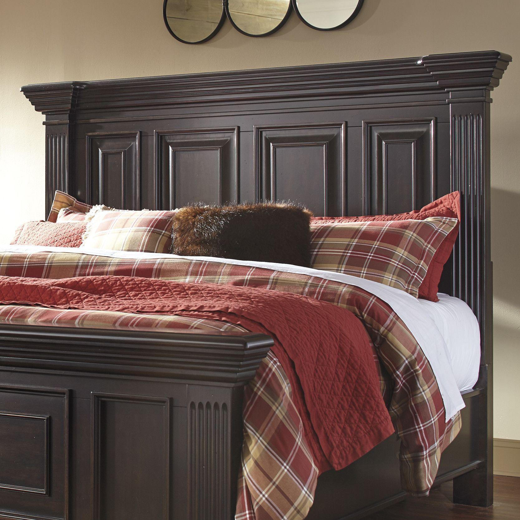 Willenburg Wood Headboard Wood Bedroom Sets Panel Headboard