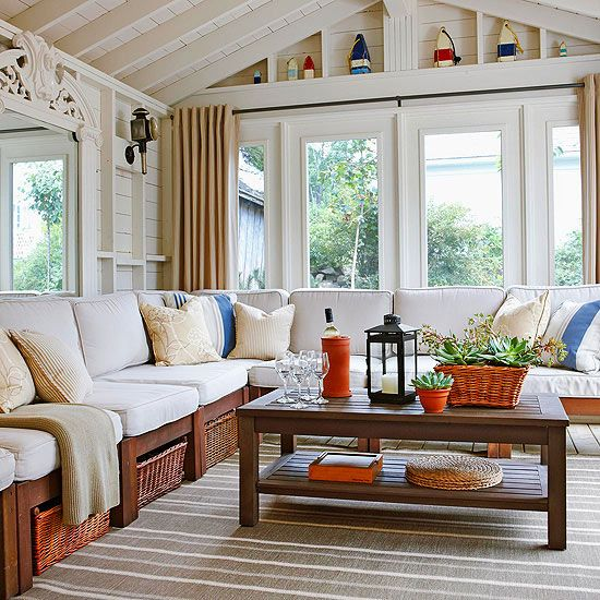 Sunroom Ideas Designs sunroom with waterfront bay view Sunroom Decorating And Design Ideas