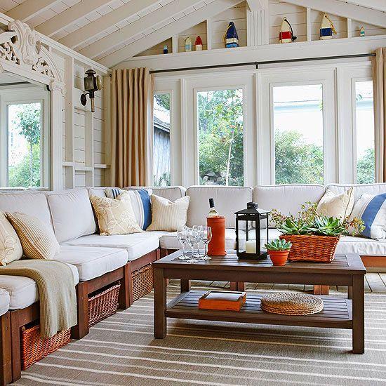 Sunroom Decorating And Design Ideas Sunroom Decorating Rustic