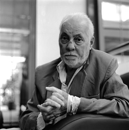 Michel Serrault (1928-2007) - multi-award-winning French stage actor and film star who appeared from 1954 until (including) 2007 in more than 150 films. Photo Jean-Paul Bajard
