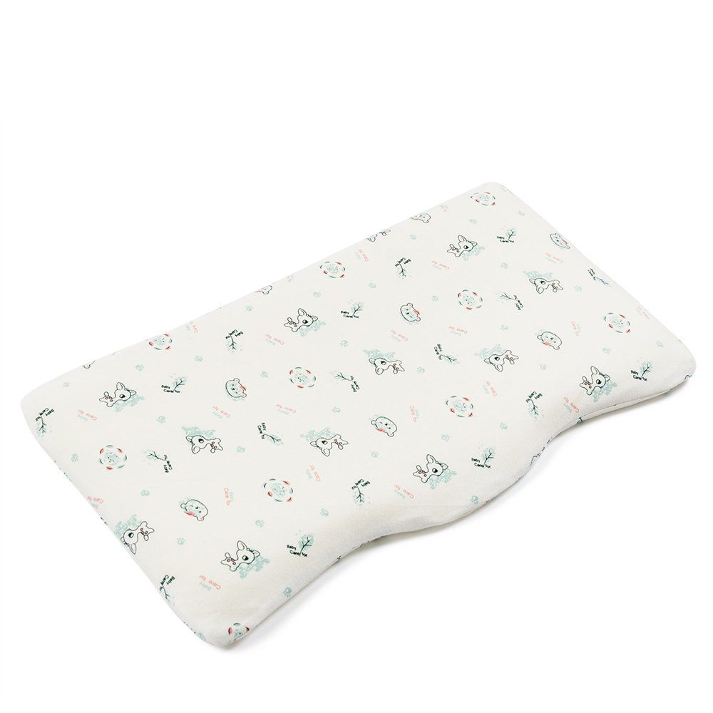 Crib pillows babies - Mkicesky Infant Pillow For Newborn Sleeping Head Shaping Memory Foam Pillow For Baby S Crib Bassinet